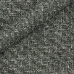 Tissu uni en laine et soie