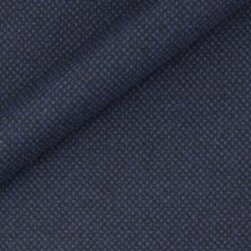 Tissu en pure laine à micro-motifs