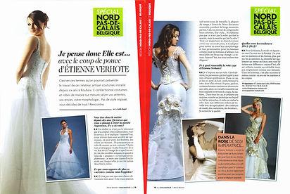 Mariée Magazine - Robe de mariée sur mesure à lille