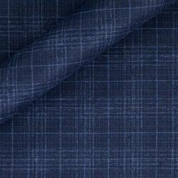 Tissu Carreaux en pure laine vierge super 130's