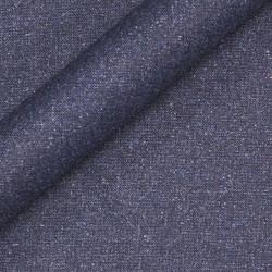 Tissu uni en pure laine vierge et soie