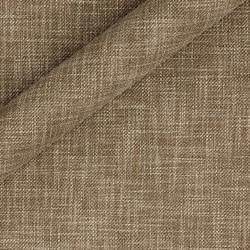 Tissu uni en coton, lin et laine