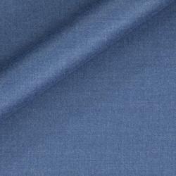 Tissu uni en pure laine vierge et polyamide