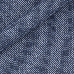Tissu en pure laine vierge à micro-motifs