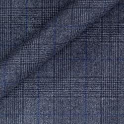 Manteau Prince de Galles en pure laine vierge
