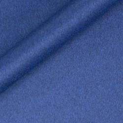 Manteau uni en pure laine vierge et cachemire