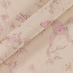 Tissu jacquard à motifs stylisés
