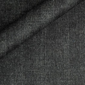 Manteau chevron en pure laine vierge