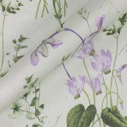 Tissu à imprimé floral en mousseline de soie