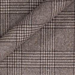 Manteau Prince de Galles en pure laine vierge, soie et cachemire