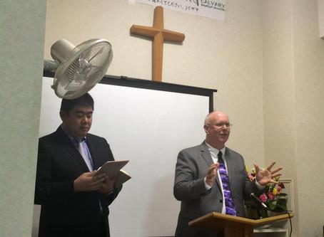 信仰約束宣教会議で語った講師