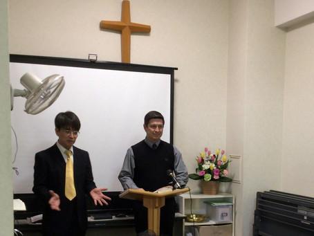 ジョナサン・スミス牧師来訪