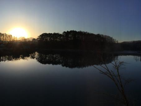 3月に松原湖バイブル・キャンプ場へ行きました