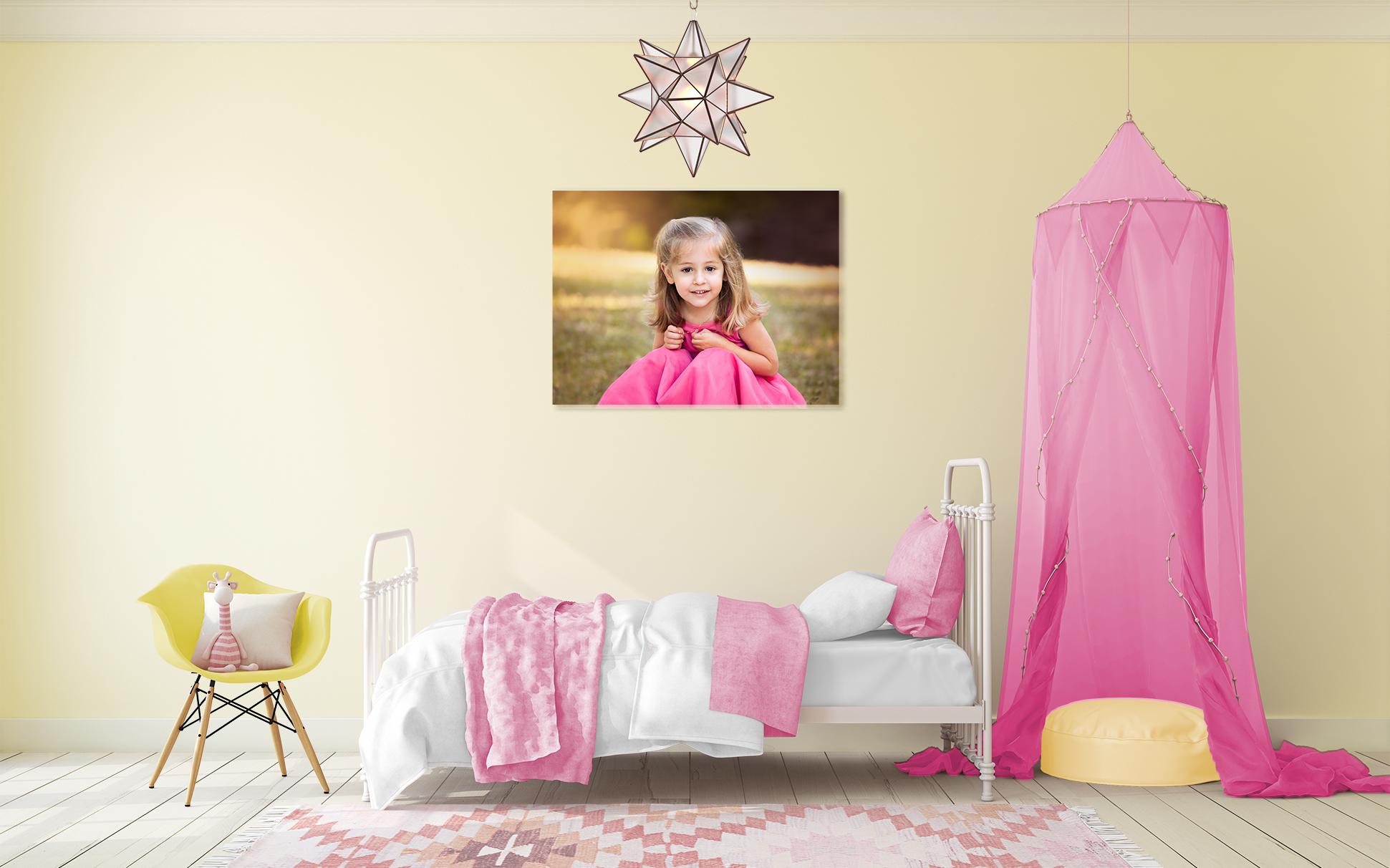 z girls room 30x20 canvas wrap
