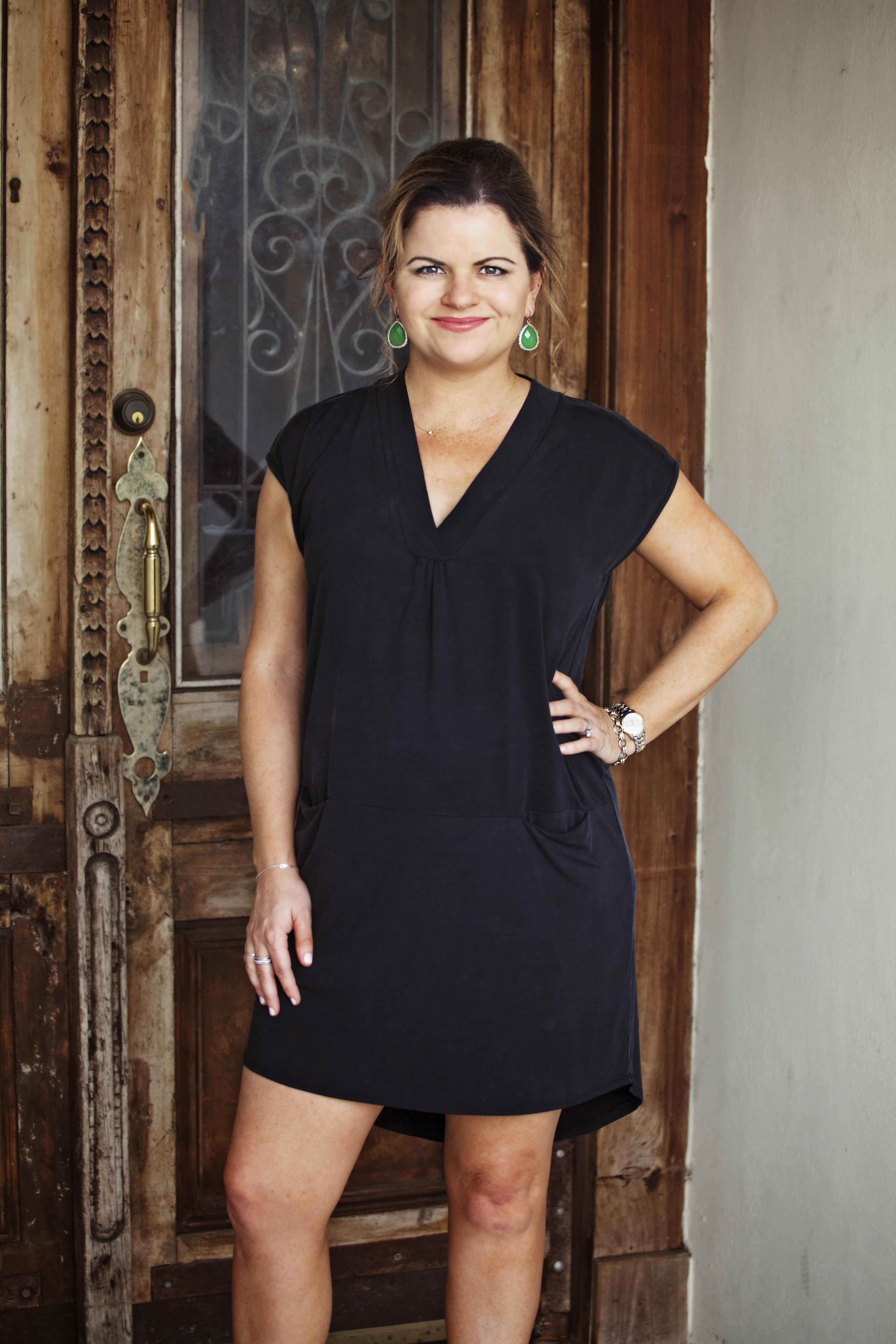 Fiona in black