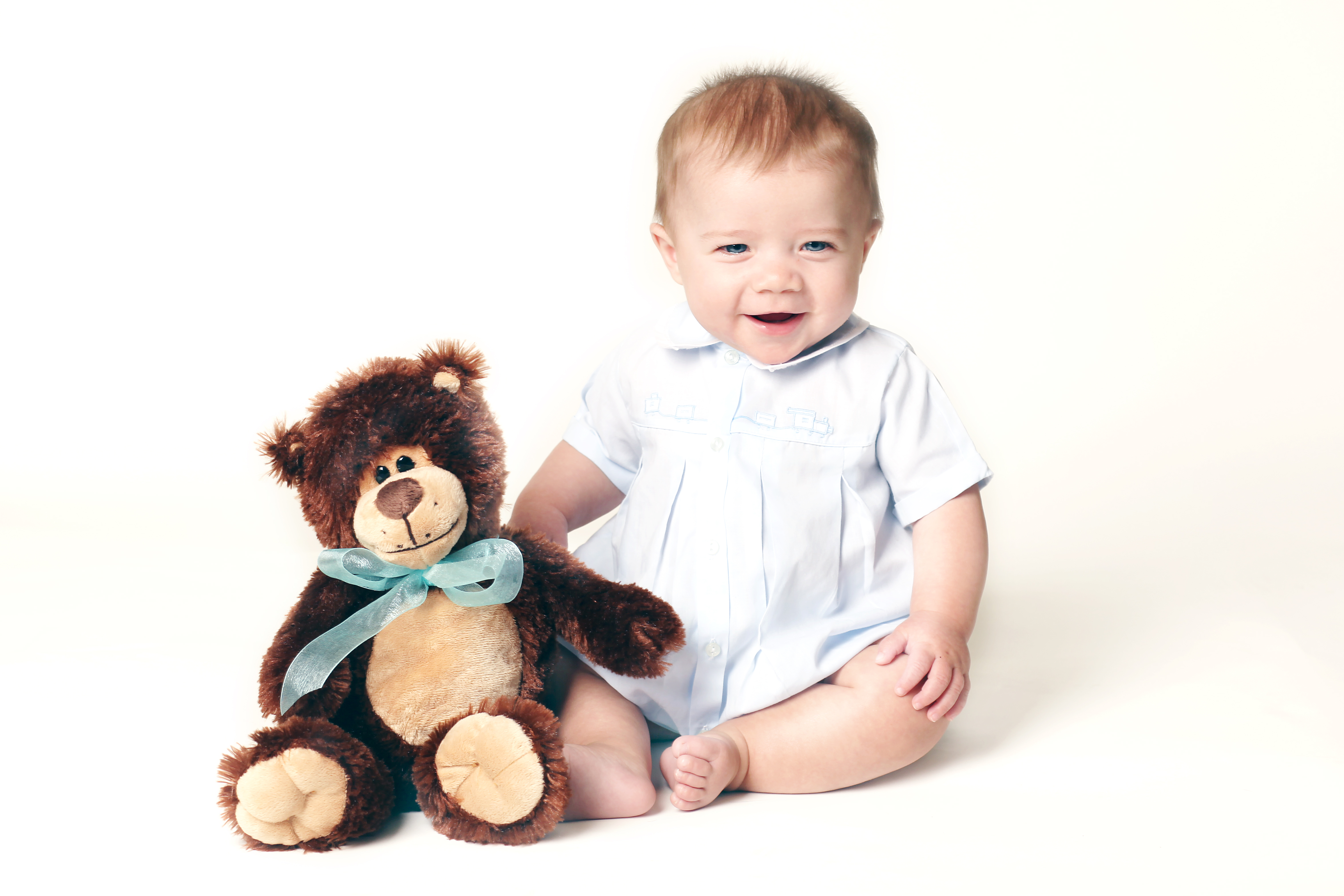 Henry with bear