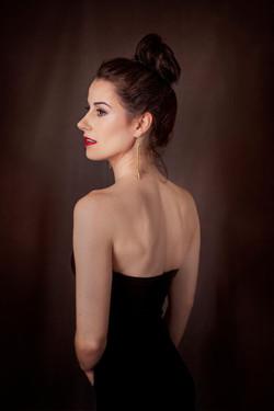 Erica with earrings