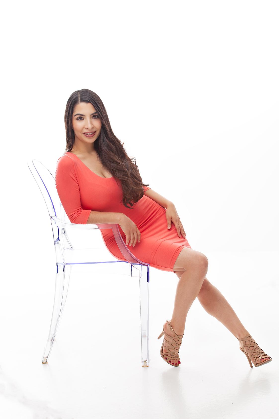 headshot model businesswoman girlboss