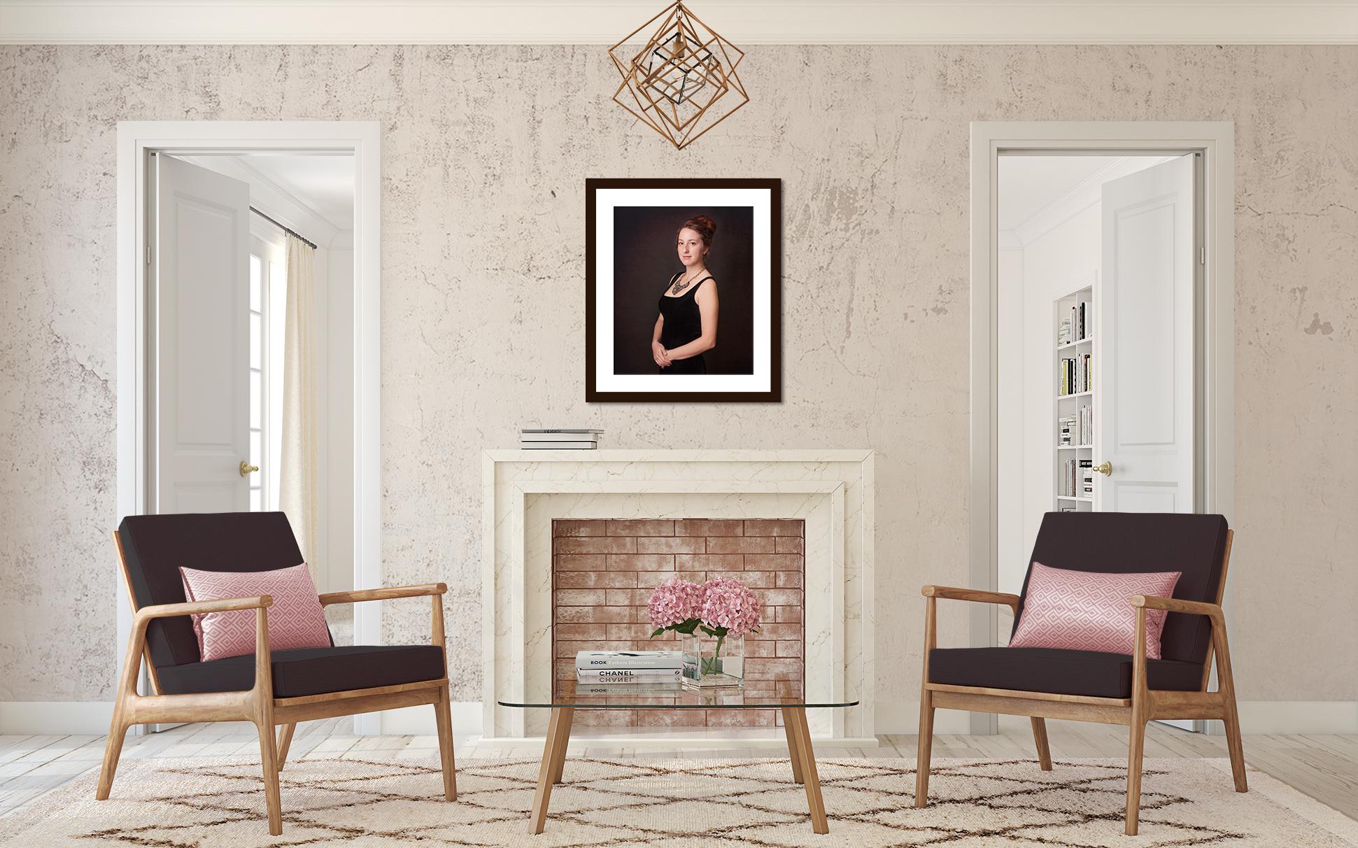 Fireplace Lizzie