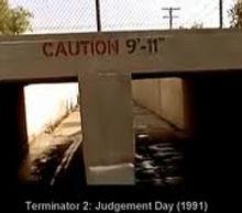 "Caution 9'11"""