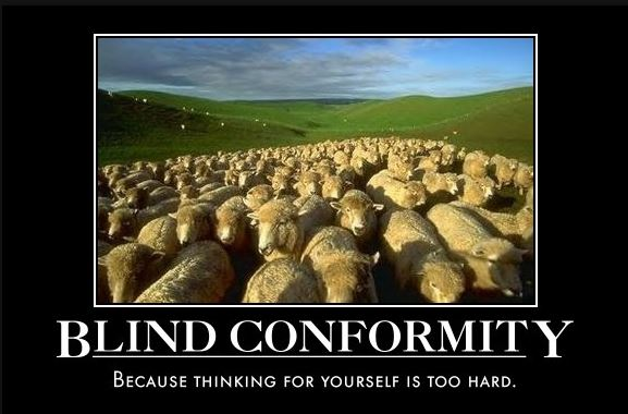 Blind Conformity