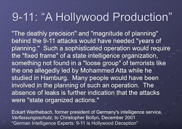 9-11: A Hollywood Production