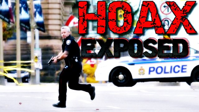 Ottawa Shooting Hoax