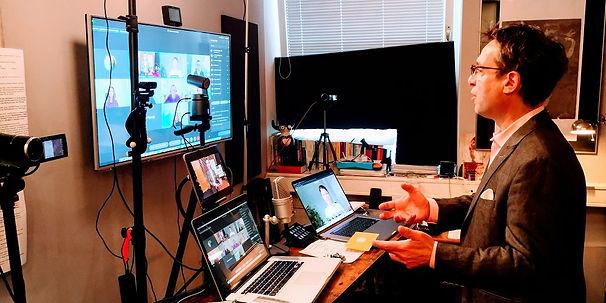 k-Eggolf im digitalen Coaching Studio.jp