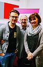 Max Eckart & Moni Littel mit Coach Uwe J. Hackbarth