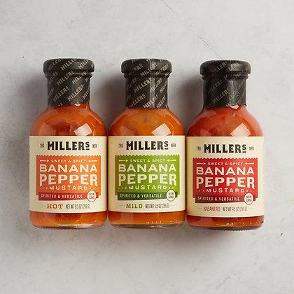 Millers Banana Pepper Mustard
