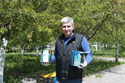 Андрей Гальченко, сквер Гутовского