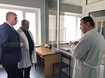 Андрей Гальченко: Одна из приоритетных задач – создание в городе комфортных условий для работы медик