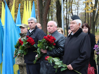 Торжественные мероприятия в честь 73-й годовщины освобождения Украины