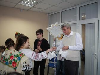 Сказочное представление с Дедом Морозом для детей из общественной организации «Берегиня души»