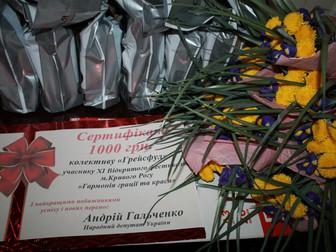 При поддержке народного депутата Украины Андрея Гальченко в Кривом Роге состоялся фестиваль грации и