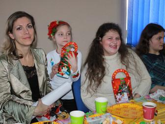 Накануне Рождества в гостях у нардепа Андрея Гальченко побывали дети с особенными потребностями и из