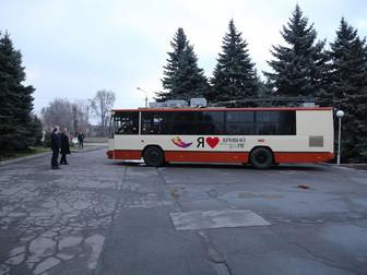 В Кривом Роге на линию вышел шестой троллейбус с дизель-генераторной установкой