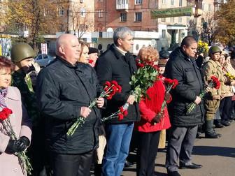 В Кривом Роге отметили 72-ю годовщину освобождения Украины