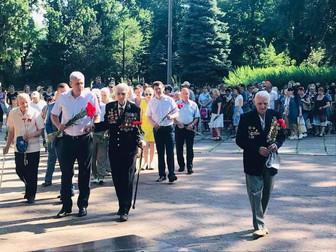 Андрей Гальченко: Вечная память погибшим Героям, а живым воинам-освободителям – низкий поклон