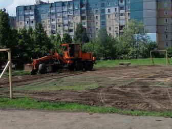 По просьбам жителей благоустроена территория для игры в уличный футбол