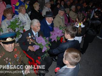 Первыми в Украине 43-й год подряд в 4 утра День Победы начали праздновать в Кривом Роге