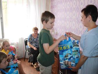 Нуждающиеся многодетные семьи получили школьные принадлежности от народного депутата Украины Андрея