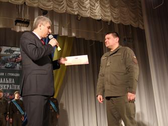 Поздравления с Днем Национальной гвардии военнослужащих части 3011