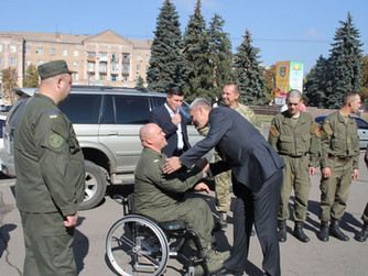 Поздравление с 50-летним юбилеем криворожской воинской части № 3011