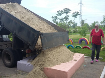 """Благодаря акции """"Игры в песочнице"""" выполнены новые заявки на микр-не Восточный"""