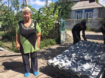 Андрей Гальченко оказал необходимую помощь жителям Долгинцево после стихийного бедствия