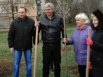 Андрей Гальченко принял участие в первых криворожских субботниках