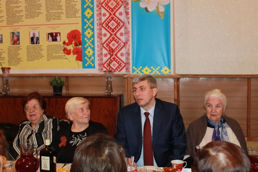 Андрей Гальченко. Поздравление ветеранов