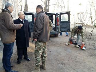 Городской штаб отправил очередную помощь криворожанам – бойцам АТО на передовую