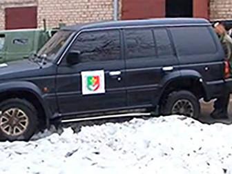 Народные депутаты передали в зону АТО вездеходный автомобиль